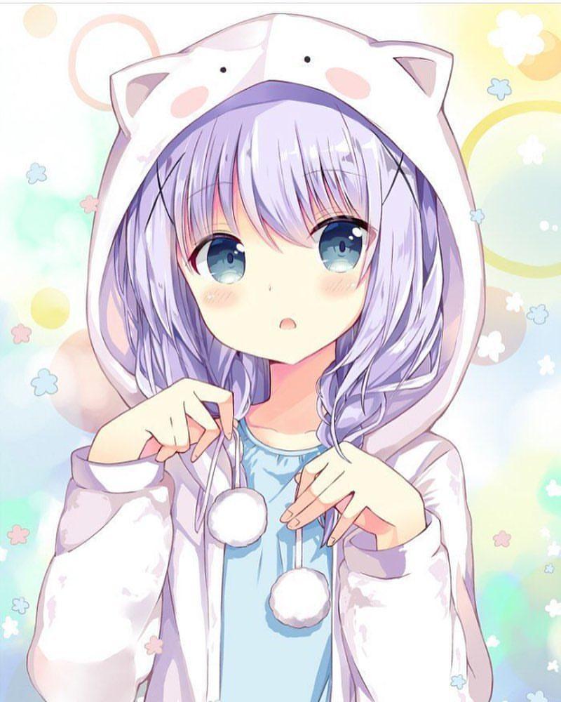اجمل الصور انمي بنات Anime Pictures Girl جديدة للهواتف والكمبيوتر